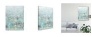 """Trademark Global Naomi Mccavitt Cerulean Reflections II Canvas Art - 37"""" x 49"""""""