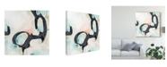 "Trademark Global June Erica Vess Pastel Horizon IV Canvas Art - 27"" x 33"""