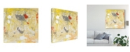 "Trademark Global Tim Otoole Lemon Jostle I Canvas Art - 27"" x 33"""