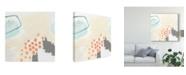 "Trademark Global June Erica Vess Chromatic Inference II Canvas Art - 20"" x 25"""