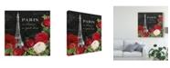 """Trademark Global Katie Pertiet Rouge Paris Ii Black Canvas Art - 15"""" x 20"""""""