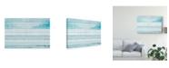 """Trademark Global Michael Mullan Beachscape IX Blue Canvas Art - 20"""" x 25"""""""