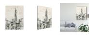 "Trademark Global Silvia Vassileva Manhattan Neutral Ii Crop Canvas Art - 20"" x 25"""