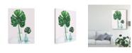 "Trademark Global Wellington Studio Statement Palms Ii V2 Canvas Art - 37"" x 49"""