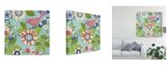 "Trademark Global Diane Kappa Flock Together I Canvas Art - 15"" x 20"""