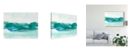 "Trademark Global June Erica Vess Teal Coast I Canvas Art - 20"" x 25"""