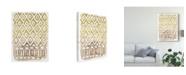 "Trademark Global June Erica Vess Mud Cloth Motif II Canvas Art - 20"" x 25"""