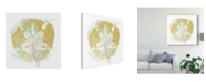 "Trademark Global June Erica Vess Seaside Block Prints II Canvas Art - 15"" x 20"""