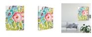 "Trademark Global Julia Minasian Flower Delight II Canvas Art - 20"" x 25"""