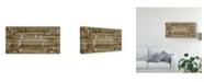 "Trademark Global June Erica Vess Love and Laughter II Canvas Art - 20"" x 25"""