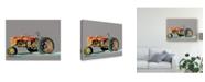 "Trademark Global Emily Kalina Vintage Tractor III Canvas Art - 37"" x 49"""