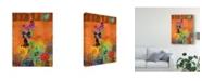 "Trademark Global Sisa Jasper Butterfly Panorama Triptych II Canvas Art - 20"" x 25"""