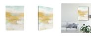"""Trademark Global June Erica Vess Citron Vista I Canvas Art - 37"""" x 49"""""""