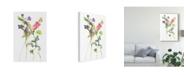 "Trademark Global Melissa Wang Watercolor Floral Study IV Canvas Art - 37"" x 49"""