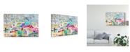 """Trademark Global Karen Fields Abstract Clouds Canvas Art - 20"""" x 25"""""""