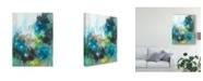 "Trademark Global Joyce Combs Spring Delight I Canvas Art - 20"" x 25"""