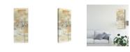 "Trademark Global Jennifer Goldberger Neutral Lace II Canvas Art - 15"" x 20"""