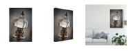 "Trademark Global Christine Sainte-Laudy Oil Lamp Canvas Art - 37"" x 49"""