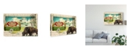 "Trademark Global Sandy Lloyd Big Sky Camper Canvas Art - 15"" x 20"""