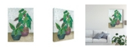 "Trademark Global Chariklia Zarris House Garden II Canvas Art - 20"" x 25"""