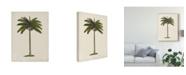 "Trademark Global Naomi Mccavitt British Palms IV Canvas Art - 37"" x 49"""