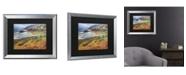 """Trademark Global Pierre Leclerc Bigsur California Matted Framed Art - 27"""" x 33"""""""