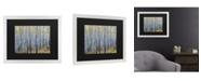 "Trademark Global Pierre Leclerc Forest of Aspen Trees Matted Framed Art - 20"" x 25"""