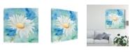 "Trademark Global Regina Moore Daisy Sunshine II Canvas Art - 15"" x 20"""