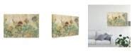 "Trademark Global Silvia Vassileva Rustic Succulent Garden Canvas Art - 15"" x 20"""