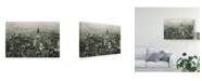 """Trademark Global Wild Apple Portfolio Manhattan at Night Canvas Art - 15"""" x 20"""""""