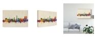 "Trademark Global Michael Tompsett Split Croatia Skyline Canvas Art - 20"" x 25"""