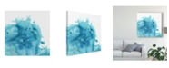 "Trademark Global June Erica Vess Splash Wave I Canvas Art - 27"" x 33"""