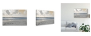 "Trademark Global Sharon Chandler Serene Sea 1 Canvas Art - 37"" x 49"""