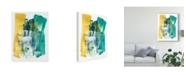 """Trademark Global June Erica Vess Metro Gesture II Canvas Art - 37"""" x 49"""""""