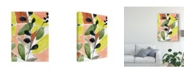 "Trademark Global Jennifer Goldberger Tropic Fun I Canvas Art - 20"" x 25"""