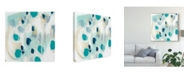 "Trademark Global June Erica Vess Sky Pebbles I Canvas Art - 15"" x 20"""