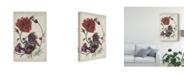 "Trademark Global Melissa Wang Antique Peony I Canvas Art - 37"" x 49"""