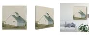 "Trademark Global Emma Scarvey Serene Barn I Canvas Art - 20"" x 25"""