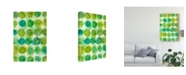 "Trademark Global Chariklia Zarris Spearmint II Canvas Art - 15"" x 20"""