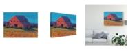 "Trademark Global Tim Otoole Colorful Barn View II Canvas Art - 20"" x 25"""