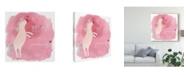 "Trademark Global June Erica Vess Magic Unicorn Squad I Canvas Art - 20"" x 25"""