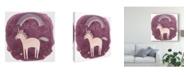"Trademark Global June Erica Vess Magic Unicorn Squad IV Canvas Art - 15"" x 20"""