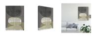 "Trademark Global Jennifer Goldberger Resting Shapes IV Canvas Art - 15"" x 20"""