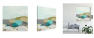 "Trademark Global June Erica Vess Fieldscape Vista I Canvas Art - 20"" x 25"""