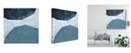 "Trademark Global Emma Scarvey Adjacent Abstraction I Canvas Art - 20"" x 25"""