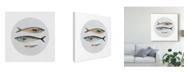 "Trademark Global Emma Scarvey Three Fish I Canvas Art - 15"" x 20"""