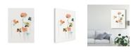 """Trademark Global June Erica Vess Modular Bouquet IV Canvas Art - 20"""" x 25"""""""