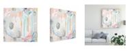 "Trademark Global June Erica Vess Interior Orbit IV Canvas Art - 15"" x 20"""
