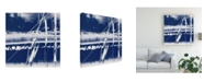 "Trademark Global Ethan Harper Alternating Current I Canvas Art - 15"" x 20"""