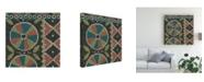 """Trademark Global Chariklia Zarris Woven Journey II Canvas Art - 15"""" x 20"""""""